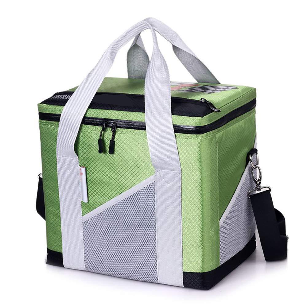 Grande capacità auto frigo contenitore di ghiaccio auto sacchetto isolante portatile spessa impermeabile ghiaccio fresco Pack adatto per viaggi self-guida barbecue da campeggio