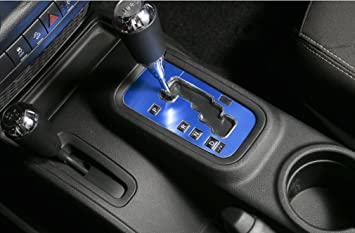 E Cowlboy Aluminum Inner Accessories Trim Gear Frame Cover For Jeep Wrangler  2012 2013 2014