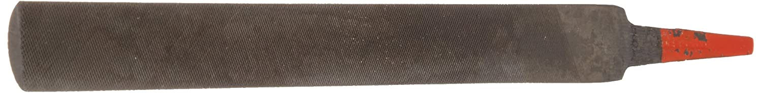 American Pattern Half-Round Simonds Hand File Black Oxide Coating Double Cut 15//16 Width Fine 9//32 Thickness 10 Length
