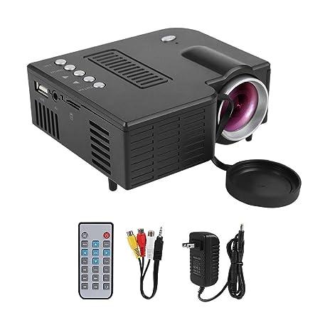 HD 1080P Mini proyector LED Proyector portátil de Cine en ...