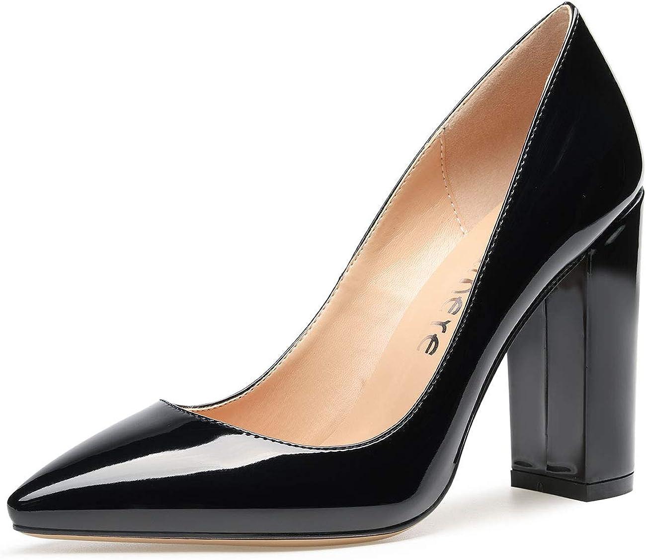CASTAMERE Womens High Block Heels