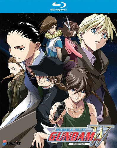 Mobile Suit Gundam Wing: Blu-Ray Collection 1 by Right Stuf