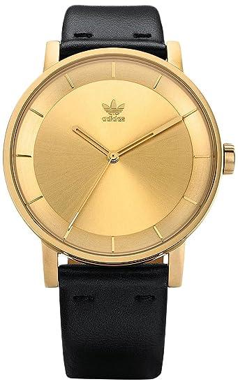 Adidas by Nixon Reloj Analogico para Mujer de Cuarzo con Correa en Cuero Z08-510-00: Amazon.es: Relojes