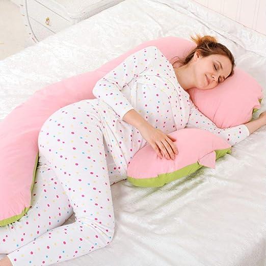 Pillow-LQ Almohada para Mujer Embarazada Almohada Lateral ...