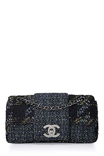 d743fe7bc6c307 CHANEL Multicolor Tweed Fantasy Flap (Pre-Owned): Handbags: Amazon.com