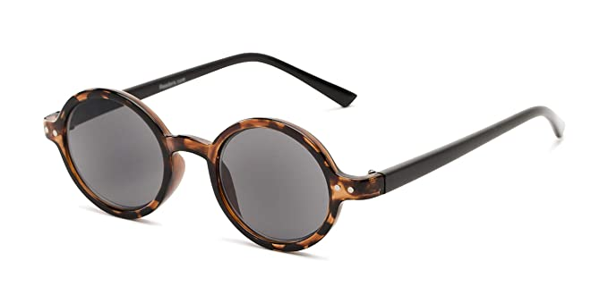 Amazon.com: Gafas de sol de lectura, redondas, elegantes ...