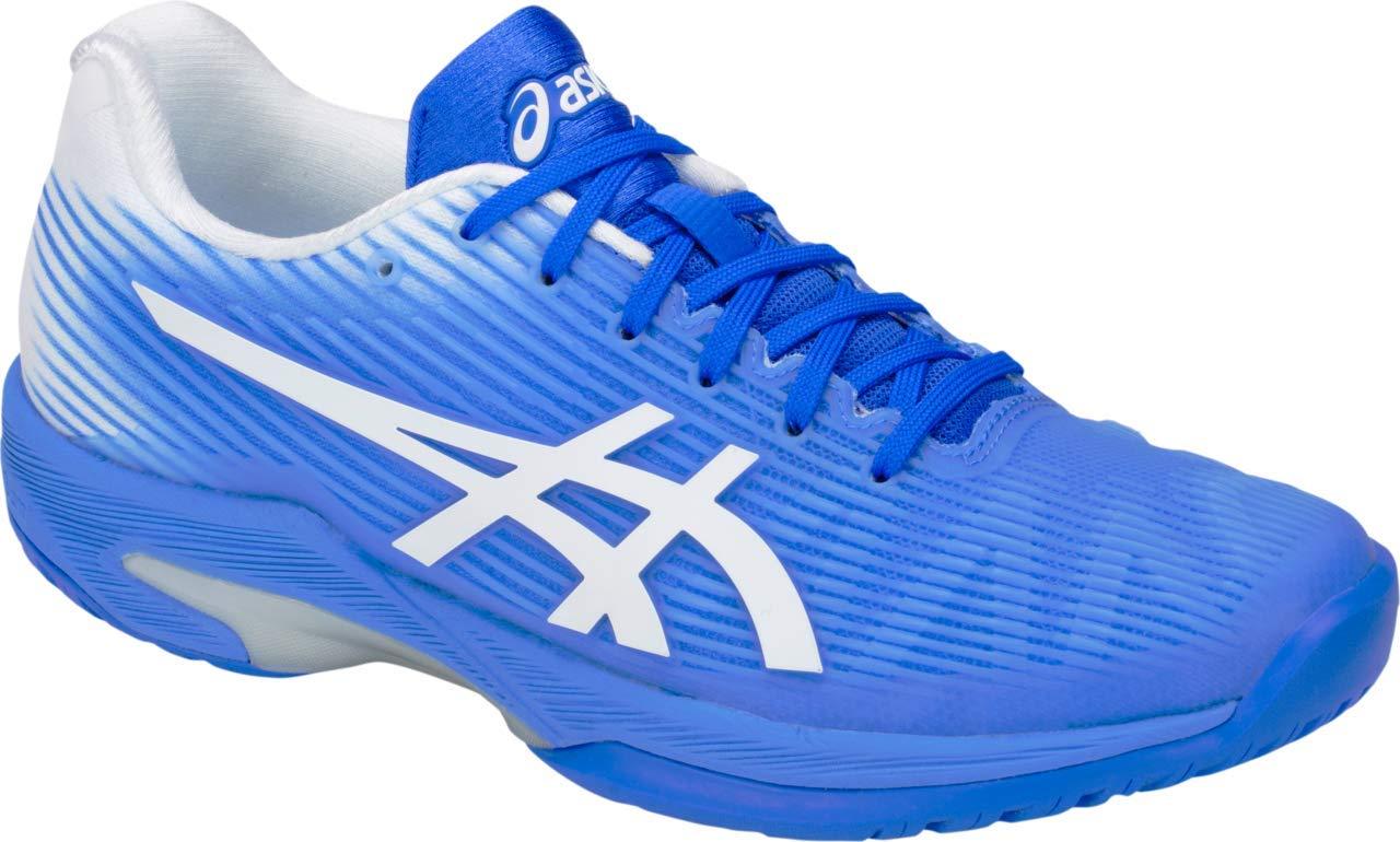 ASICS Solution Speed FF Women's Tennis Shoe, Blue Coast/White, 5 B US