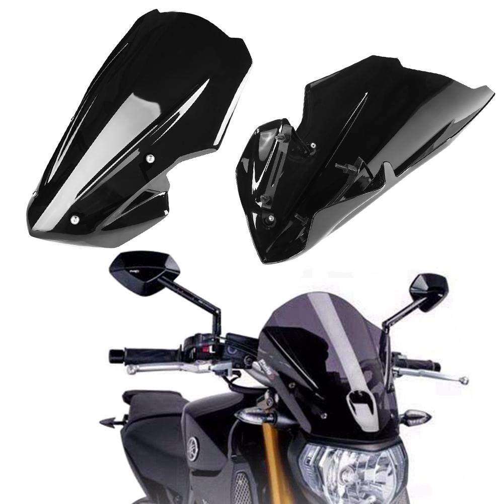 deflector de viento del parabrisas del parabrisas de la motocicleta para Z900 2017-2019 Parabrisas de la motocicleta