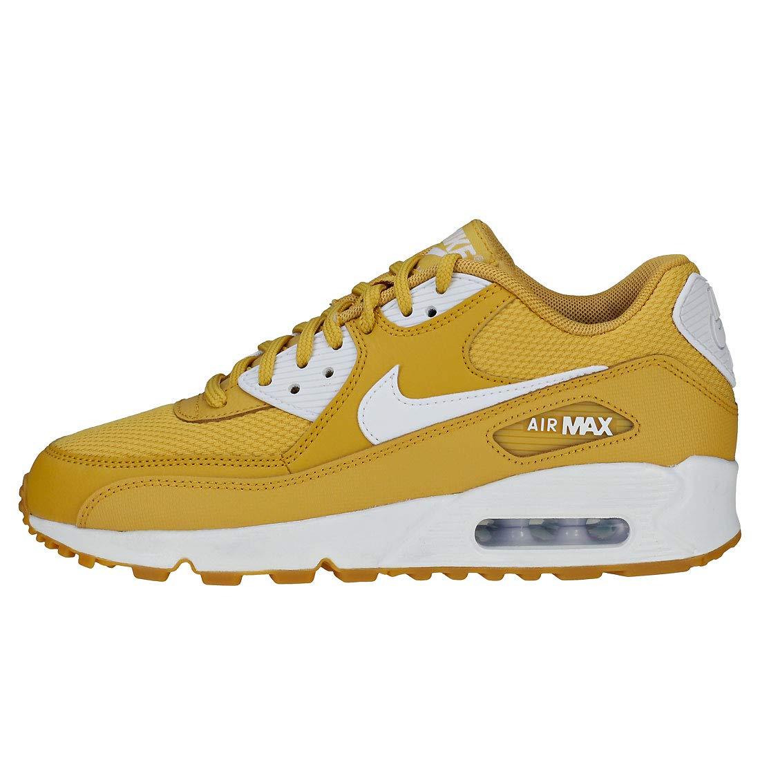 Nike Wmns Air Max 90 Damen Sneakers Mehrfarbig (Wheat (Wheat (Wheat Gold/Weiß/Gum Light Braun/Weiß 001) 41e560