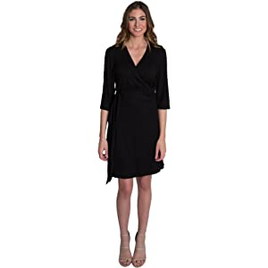 606f7128ad888 Udderly Hot Mama Whimsical Wrap Front Tie Nursing and Pumping Dress -  Stylish, Simple and