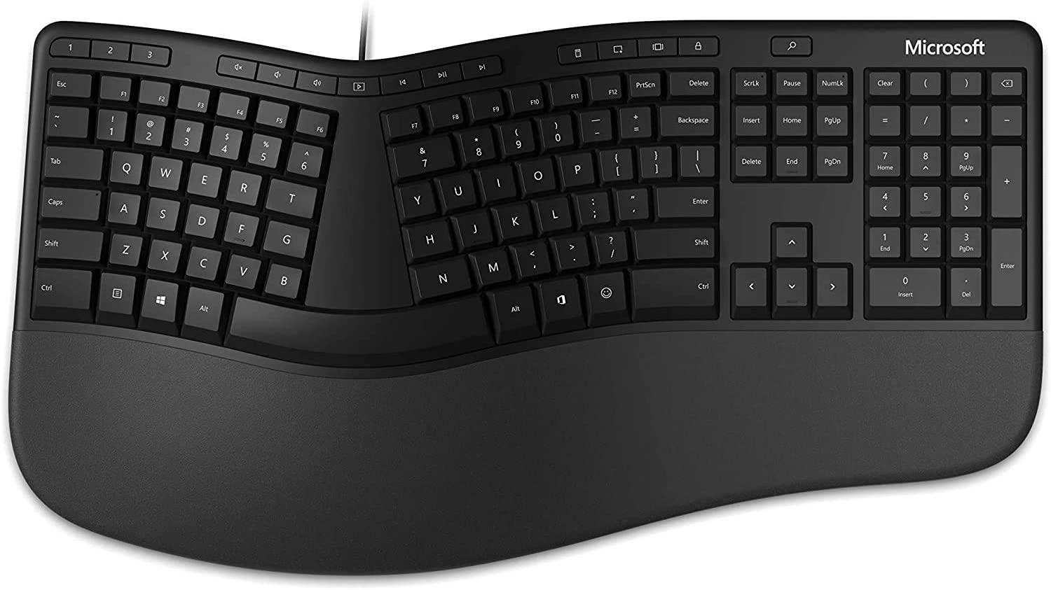 Microsoft Ergonomic Keyboard for Business - Wired (LXM-00001)