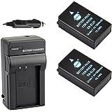 DSTE® アクセサリーキット Nikon EN-EL20 EN-EL20A 互換 カメラ バッテリー 2個+充電器キット対応機種 Coolpix A 1 J1 J2 J3 AW1 S1 V3