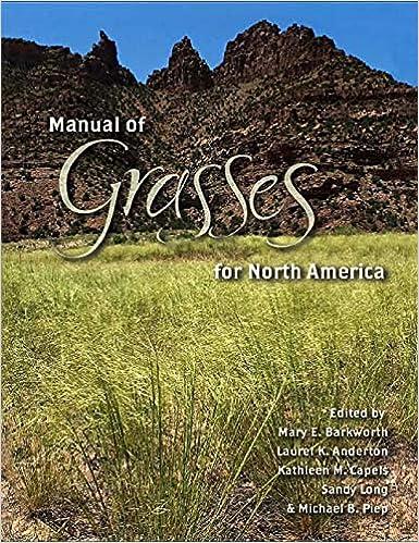 Amazon Com Manual Of Grasses For North America 9780874216868