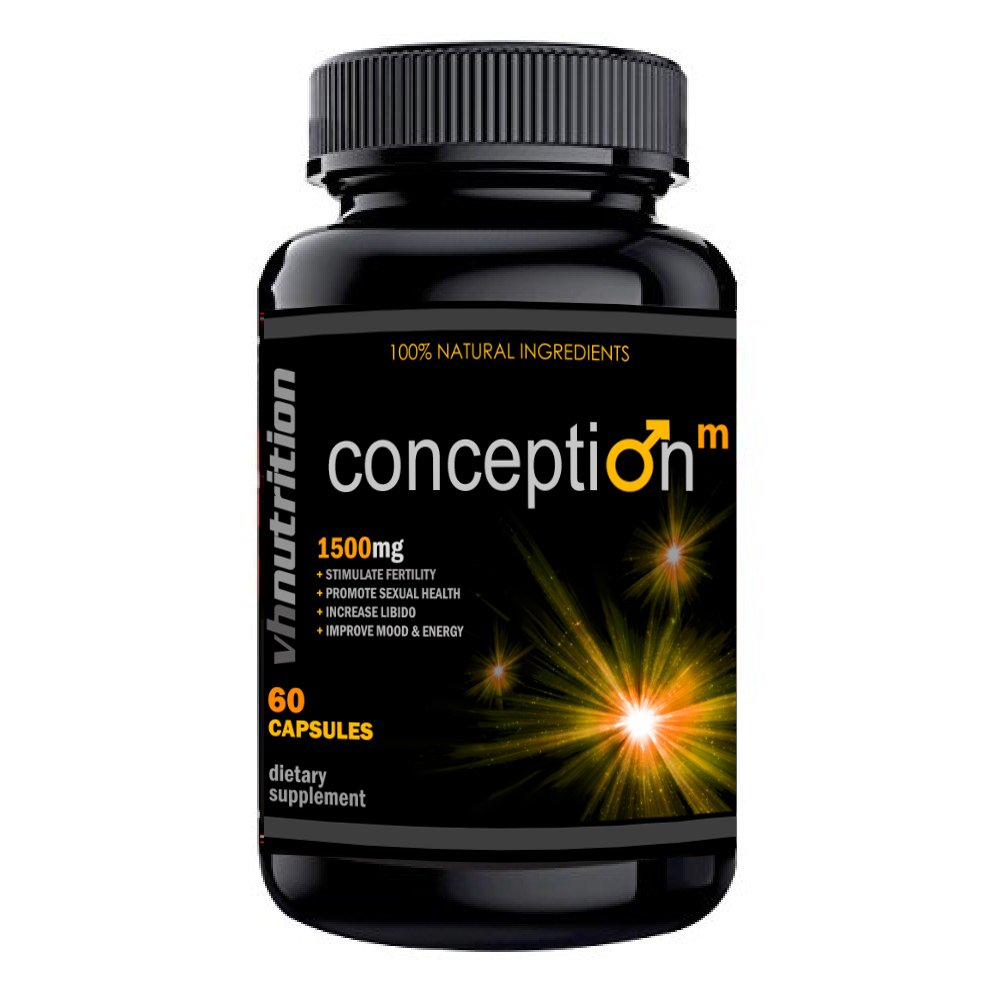 Conception Mens / Male Fertility Supplement | Natural Blend of Vitamins and Supplements in Pills