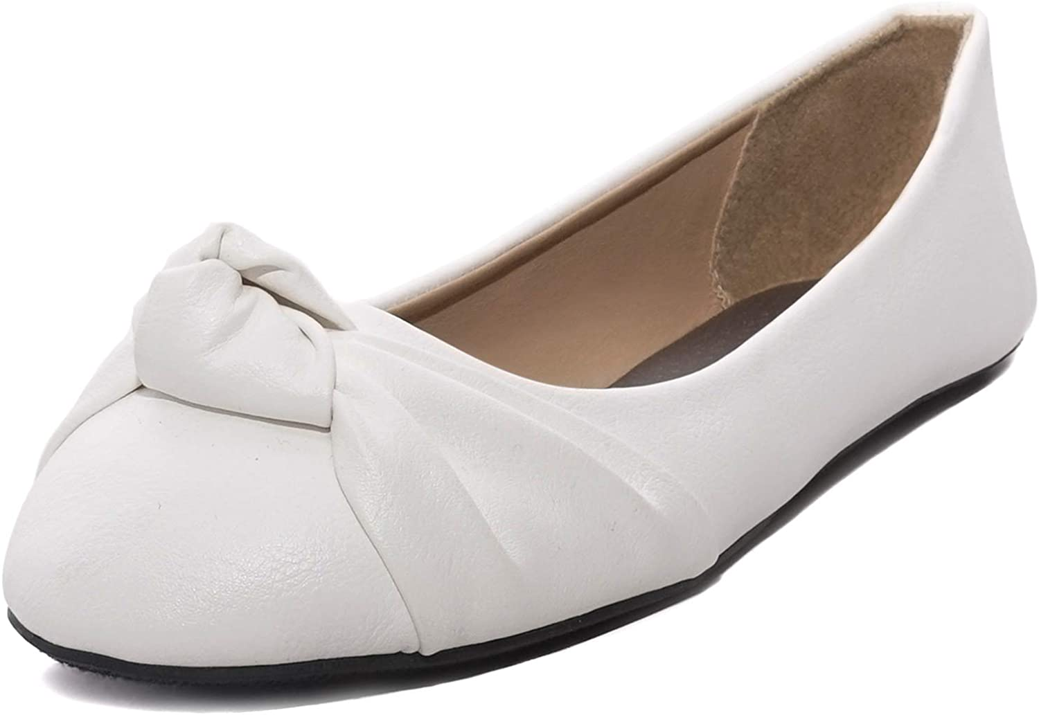 Women's Knotted Front Canvas Round Toe