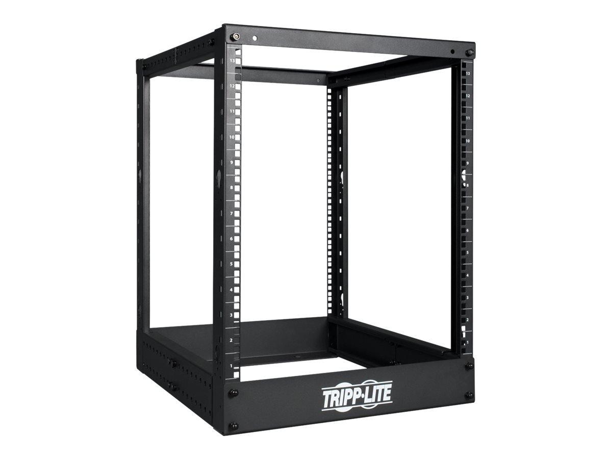 Tripp Lite 13U 4-Post Open Frame Rack, Network Equipment Rack, 1000 lb. Capacity (SR4POST13)