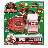Turning MECARD SHUMA Red - Korean Made TV Kids Animation Toy by Sonokong