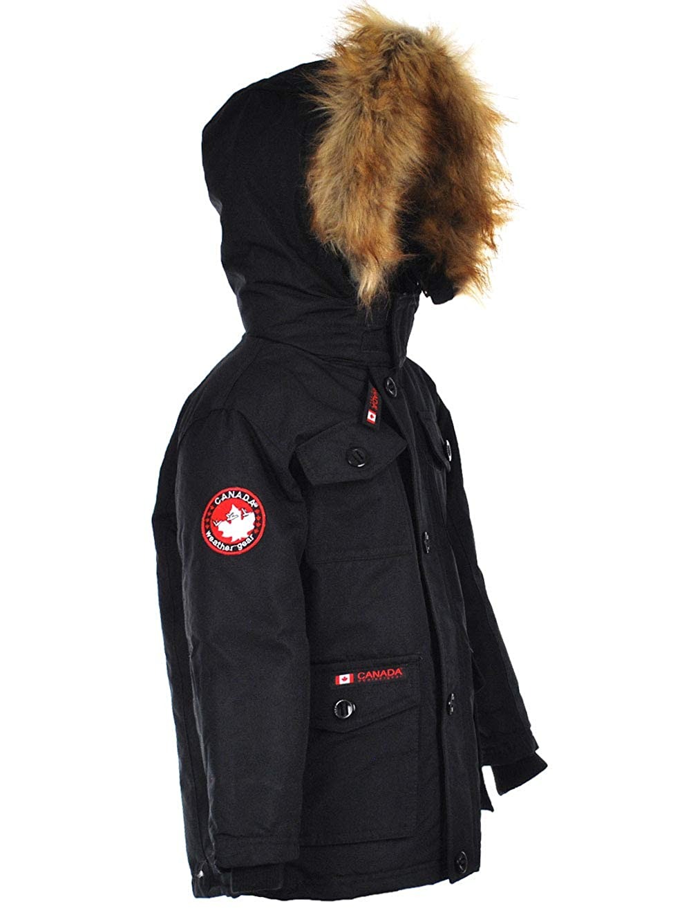 CANADA WEATHER GEAR Boys Insulated Jacket