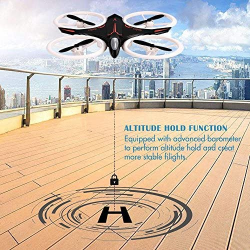 RC Drone, Mini Drone for Kids and Beginners, Mini Drones Quadcopter with LED Lights, Altitude Hold Height Headless 4CH 2.4Ghz Helicopter Steady Super Easy Fly for 3 4 5 6 7 8-12 Year Old Boy Toys 61QciI9CptL
