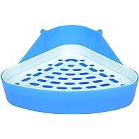 None/Brand Triangle Potty Trainer Corner, Pet Toilet Small Animal Litter Box for Hamster Rabbit Bunny Chinchilla Guinea…