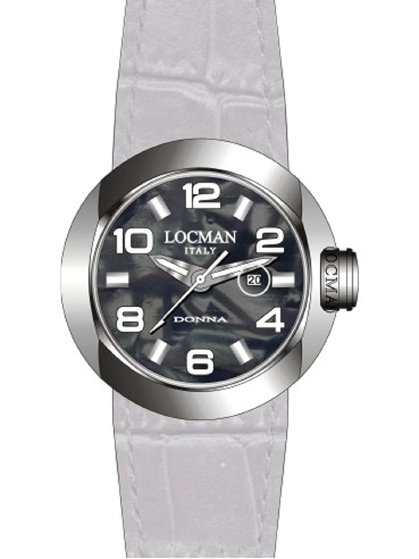 Locman Damen-Armbanduhr One Donna 042100MKNWH0PSA-W-WS