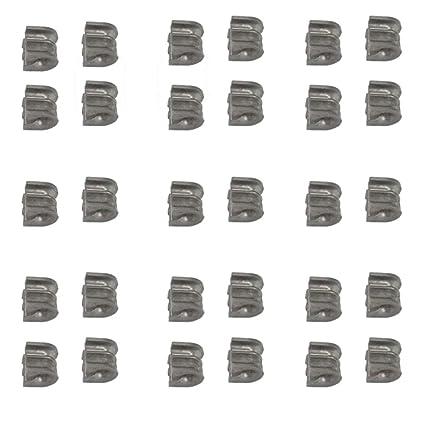 30pcs Eyelet Sleeves Chainsaw Part for Stihl FS110 FS120 FS130 FS200 FS250