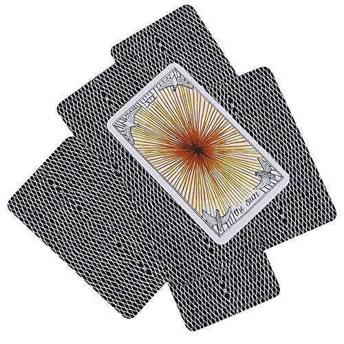 MonLiya 78Pcs/Set- Wild Unknown Tarot Deck Universal Mysterious Future Telling Game Card Set with Colorful Box Guessing Board Game Gift Poker Desk Toys by MonLiya (Image #5)