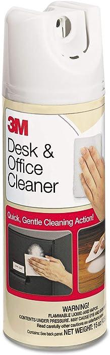 3M Desk & Office Spray Cleaner, 15oz Aerosol, 12/Carton