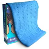 Heating Pad Fast-Heating Technology for Back/Waist/Abdomen/Shoulder/Neck Pain and Cramps Relief - Moist and Dry Heat…