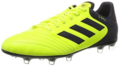 adidas X 17.3 SG, Chaussures de Football Mixte Enfant, Jaune (Solar Yellow/Legend Ink/Legend Ink), 28 EU
