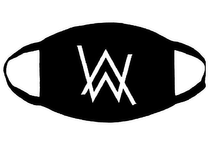 Inception Pro Infinite Máscara antipolvo Cubierta transpirable Alan & Walker Logo Cosplay Masquerade 9MaBvJlI