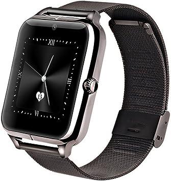 GreatCool Metálica Bluetooth Reloj Inteligente Amarre Pulsera ...