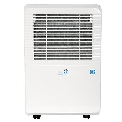 Captivating Ideal Air Dehumidifier | 80 Pint | Portable, LED Display W/Dehumidistat And