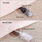 Cat 6 Ethernet Cable 1 ft Black - Flat Internet