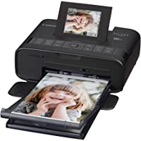 Canon 佳能 SELPHY CP1200 照片打印机 便携小型 无线连接 随身携带 色彩出众 黑色(日本品牌)