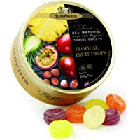 Simpkins Tropical Fruit Drops Travel Sweets 200 g, 200 g
