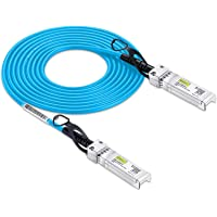 10Gtek # Blue Cable # for Ubiquiti SFP+ Direct Attach Copper Cable, 10Gb 2-Meter SFP+ DAC Twinax Cable, Passive