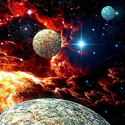 GladsBuy Vast Universe 10' x 10' Digital Printed Photography Backdrop Universe Star Theme Background YHB-183 by GladsBuy
