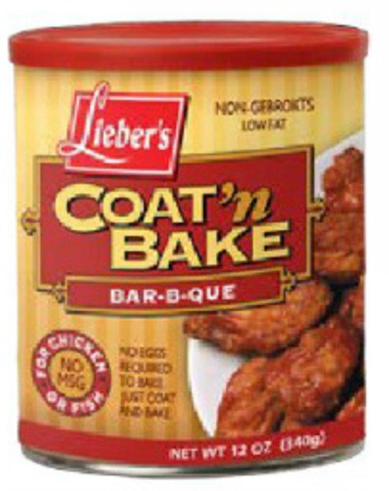 Lieber's Coat N Bake Bar-B-Que Non-Gebrokts KFP - 12oz - Pack of 3