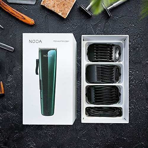 Men\'s Cordless Hair Clippers Rechargeable Hair Trimmers Professional Grooming Kit with Clipper & Trimmer for Beard, Head, Body, and Face