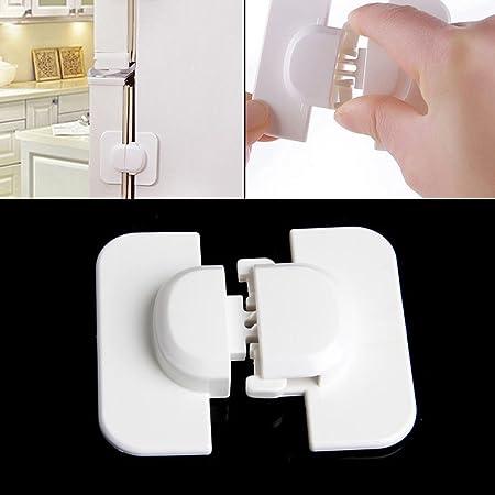 1 set mini frigo porte réfrigérateur sécurité enfant Tiroir Armoire Serrure Outils