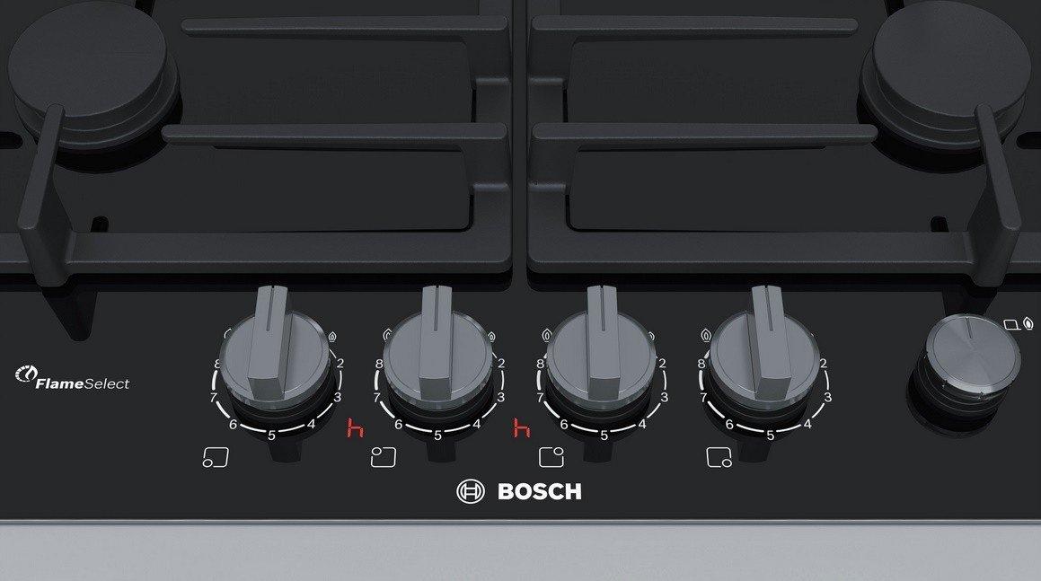 Bosch Serie 8 PRP6A6N70 Integrado Encimera de gas Aluminio ...