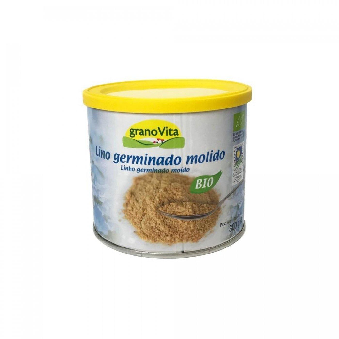 LINO GERMINADO MOLIDO BIO, 300 g: Amazon.es: Salud y cuidado personal