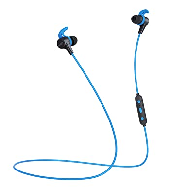 AUKEY - Auriculares inalámbricos, 3 modos de sonido EQ, auriculares Bluetooth magnéticos con diseño