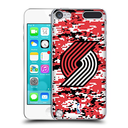 Official NBA Digital Camouflage Portland Trail Blazers Hard Back Case for iPod Touch 5th Gen / 6th - 5th Off Portland