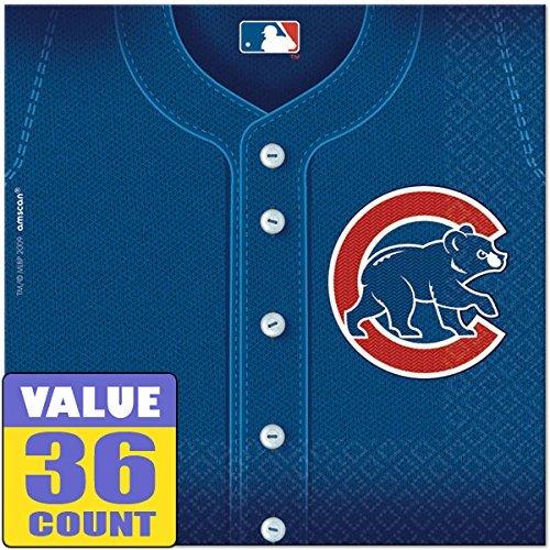 Amscan Chicago Cubs Major League Baseball Collection Luncheo