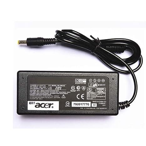 Amazon.com: Cargador adaptador de CA 19V 3,42A para Acer ...