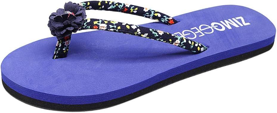 Female Summer Bohemian Wear-Resistant Anti-Skid Home Beach Casual Flat Thong Sandals Slippers Sale! Women Beach Flip Flops