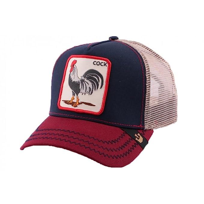 Goorin Bros - Gorra Trucker unisex, diseño de gallo americano azul Talla única : Amazon.es: Ropa y accesorios