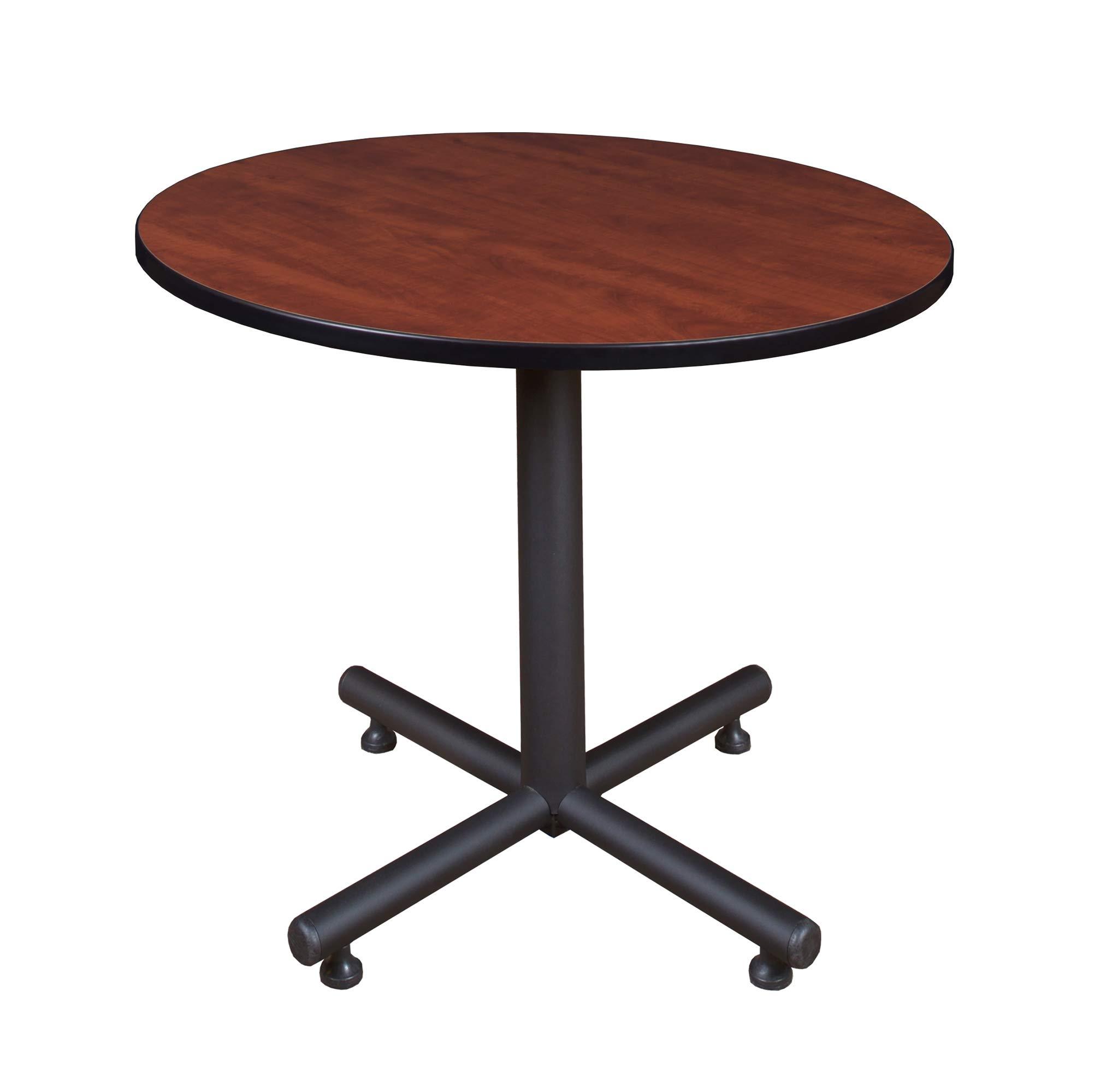 Regency Kobe 36-Inch Round Breakroom Table, Cherry by Regency Seating